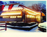 The Roadside Diner, covered in a recent snowfall.